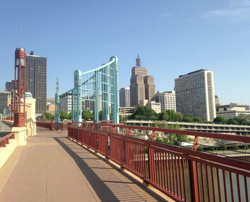 Downtown St. Paul from the Wabasha St. Bridge