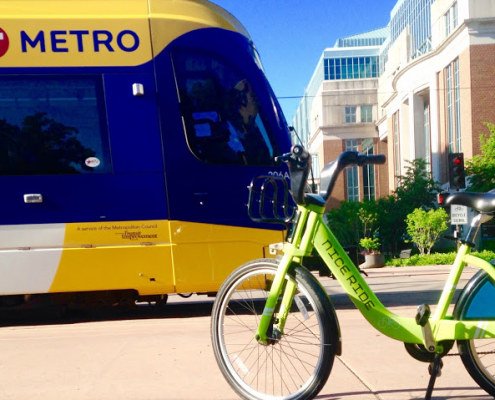 Light Rail and Nice Ride