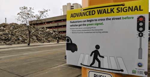 Advanced Walk Signal